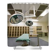 Operating Room Shower Curtain