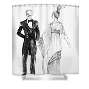 Operetta Costumes Shower Curtain