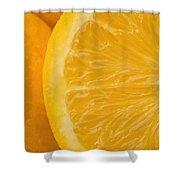 Oranges Shower Curtain by Darren Greenwood