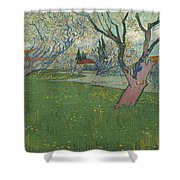 Orchards In Blossom Shower Curtain
