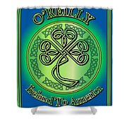 O'reilly Ireland To America Shower Curtain