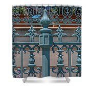 Ornate Fence Shower Curtain