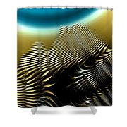 Other Worlds 08 Shower Curtain