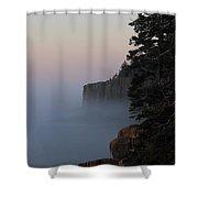 Otter Cliffs 2 Shower Curtain
