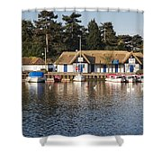 Oulton Broad Shower Curtain
