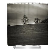 Outside Chester Ny Shower Curtain