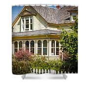 Oysterville House 6 Shower Curtain