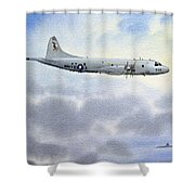P-3 Orion Shower Curtain