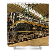 Pa Diesel Electric 4935 Shower Curtain