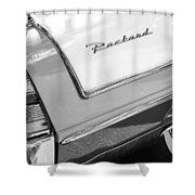 Packard Taillight Shower Curtain