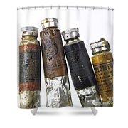 Paint Tubes Shower Curtain