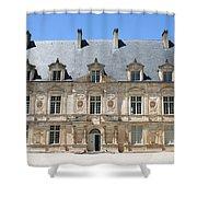 Palace Bussy Rabutin - Burgundy Shower Curtain