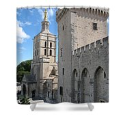 Palace Of The Pope - Avignon Shower Curtain