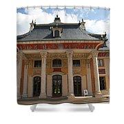 Palace Pillnitz  Shower Curtain