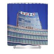 Palazzo Lombardia Shower Curtain