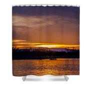 Palisade Sunset Shower Curtain