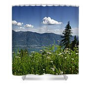 Panoramic View Shower Curtain