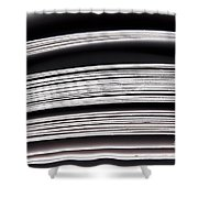 Paper Pages Shower Curtain