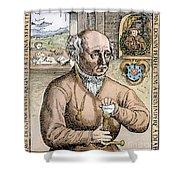 Paracelsus (1493-1541) Shower Curtain