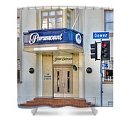 Paramount Movie Studio Hollywood Ca Shower Curtain