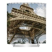 Paris: Eiffel Tower Shower Curtain