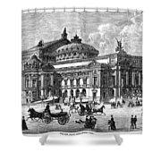 Paris Opera House, 1875 Shower Curtain