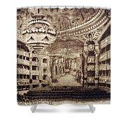 Paris Opera House Shower Curtain
