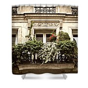 Paris Windows Shower Curtain