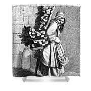 Parisian Street-crier, C1740 Shower Curtain