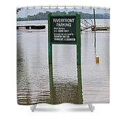 Park Where Shower Curtain