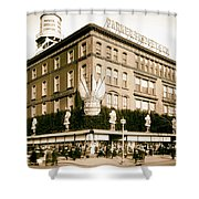 Parker Bridget And Company Department Store - Washington Dc 1921 Shower Curtain