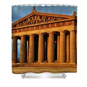 Parthenon Shower Curtain by Dan Sproul