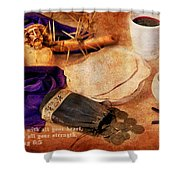 Passion Of Christ Shower Curtain