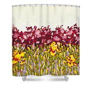 Passions Rise Shower Curtain