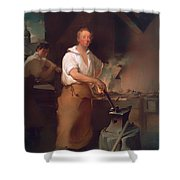 Pat Lyon At The Forge Shower Curtain