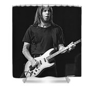Guitarist Pat Travers Shower Curtain