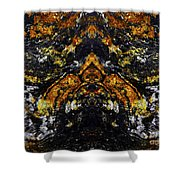 Patterns In Stone - 154 Shower Curtain