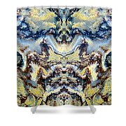 Patterns In Stone - 84 Shower Curtain