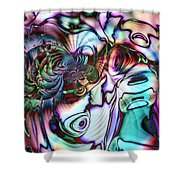 Paua Shell Shower Curtain