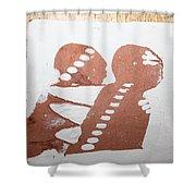 Paul - Tile Shower Curtain
