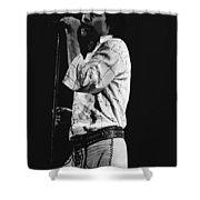 Paul Singing In Spokane 1977 Shower Curtain
