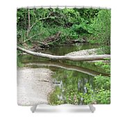 Peaceful Crossing Shower Curtain