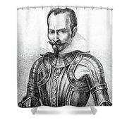 Pedro De Alvarado (1495?-1541) Shower Curtain