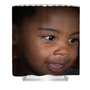 Penny For A Child's Thoughts Shower Curtain