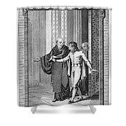 Perkin Warbeck (c1474-1499) Shower Curtain