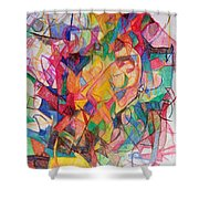 Perpetual Encounter With Providence 6 Shower Curtain