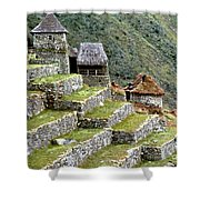 Peru: Machu Picchu Shower Curtain