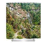 Photeng Waterfall Shower Curtain