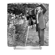 Photographer, C1911 Shower Curtain