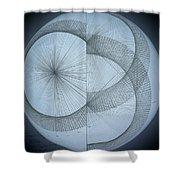Photon Double Slit Test Shower Curtain